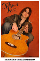 8x10 Acoustic Michael Kelly Bass Photo for sale - Autographed and Personalized